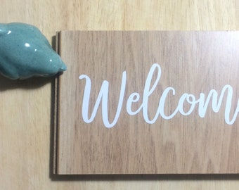 Welcome Sign Decal | DIY Wedding | Wedding Way Finding Sign |  Party Sign Decal | Chalkboard Decal | DECAL ONLY