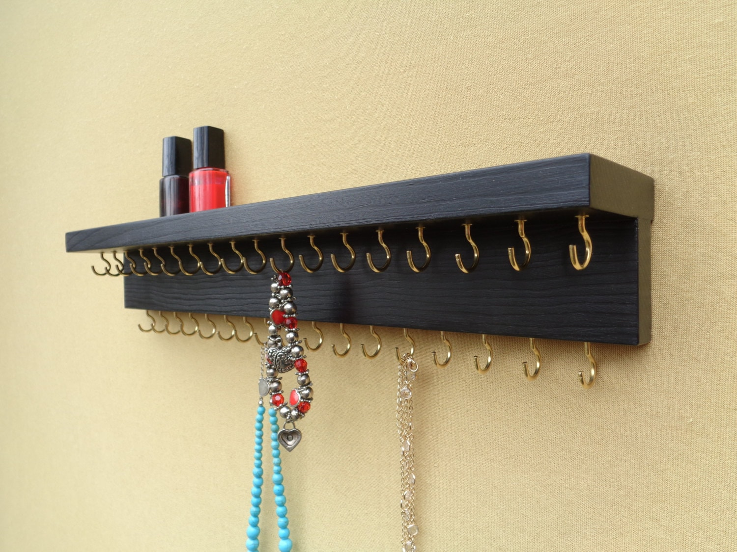 Jewelry Organizer Jewelry Holder Wall Mount Necklace