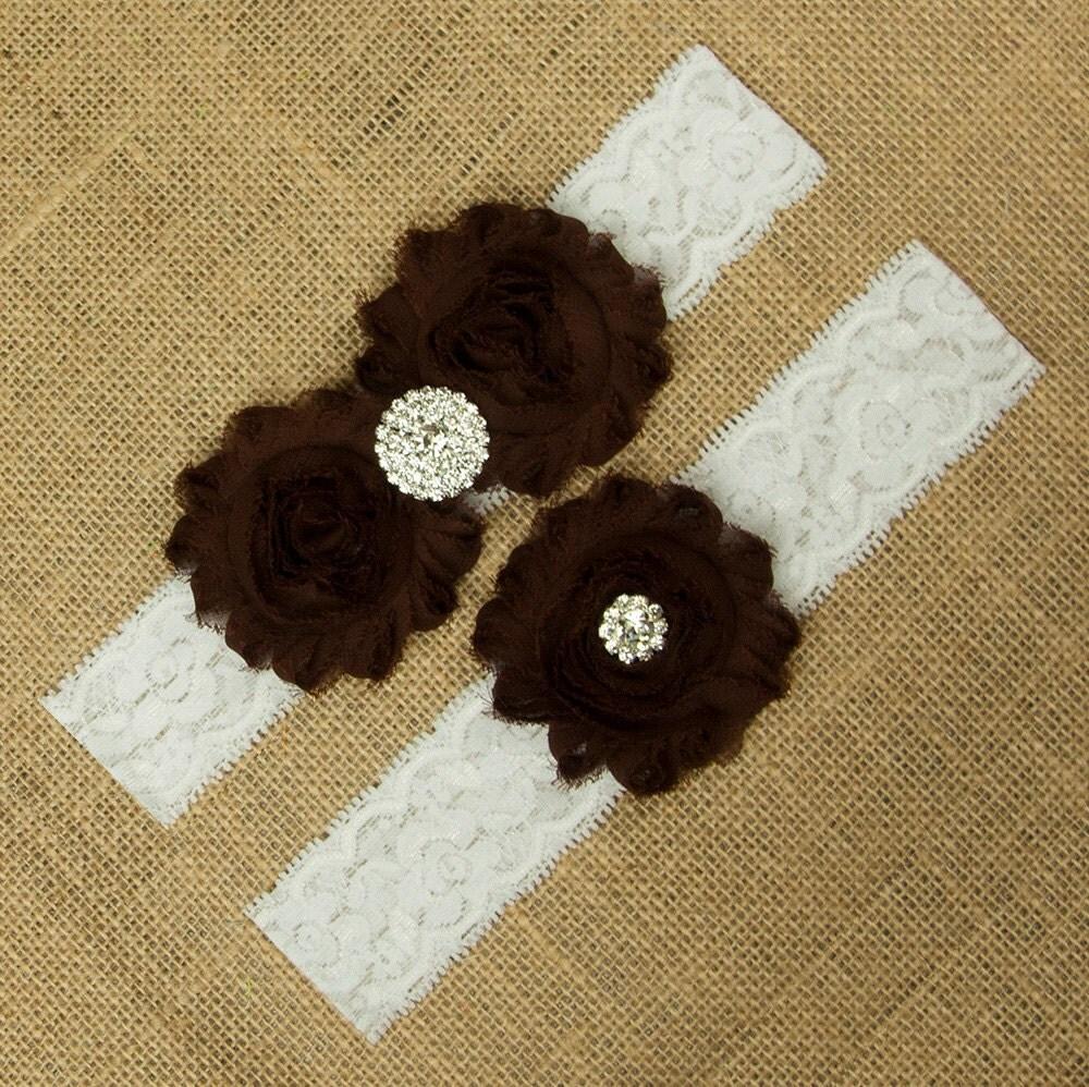 garter set garter belt brown wedding garter set brown