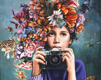Shutterbug Limited Edition Giclee' print on canvas