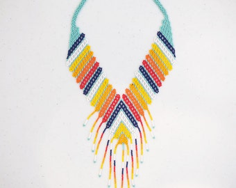 Embera statement necklace