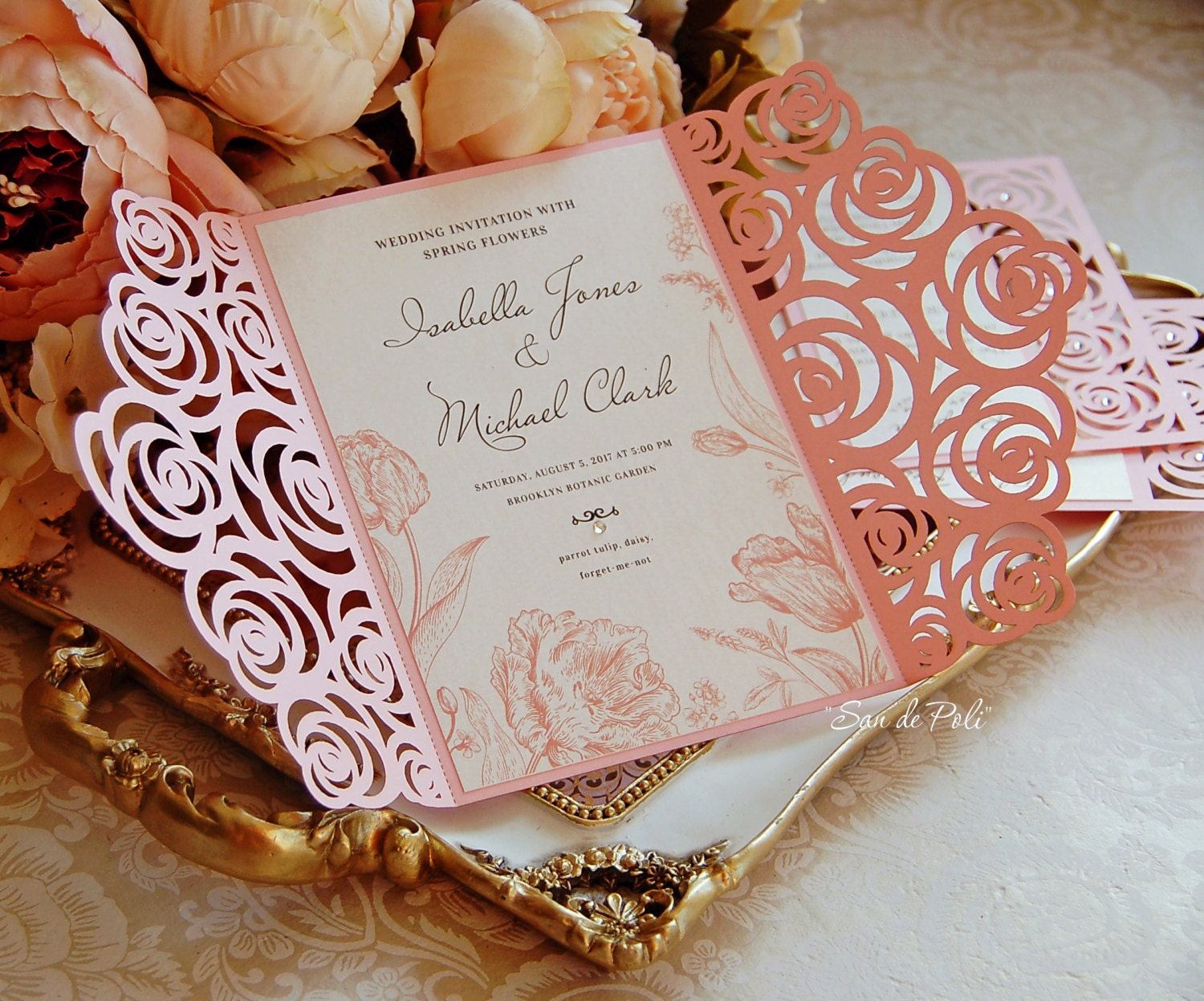 how to make wedding invitations using cricut. using a few simple, Wedding invitations