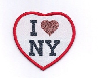 Vintage I Love New York Patch