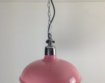 Rose Quartz Factory Ceiling Light