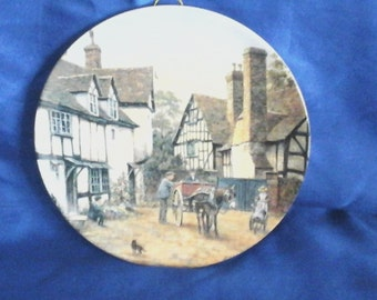 "Wedgwood Collectors Plate ""Ripple"" by F.L.Chapman Limited Edition"