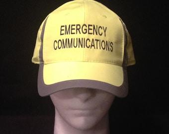 Emergency Management Hat / Ham Radio Hat / Emergency Communications Hat /  amateur radio / ham radio