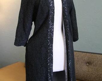1950s Lilli Diamond Laced Coat