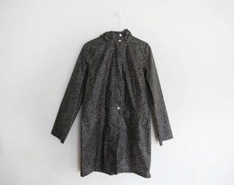 Marimekko – 1990s Polka Dot Raincoat