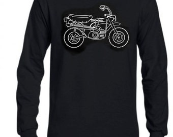 Men's long sleeve Honda CT70 shirt