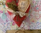 Primitive heart Spring FAAPLOVE hafair Valentines day