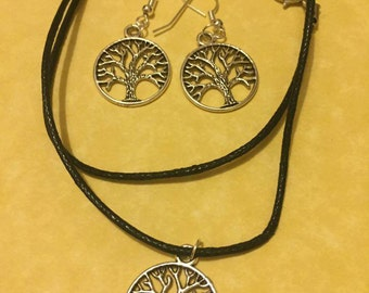 Tree of life - Necklace/earrings
