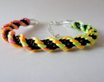 Rainbow Punch Bracelet