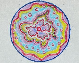 Mandala painting- Original by artist Audrone