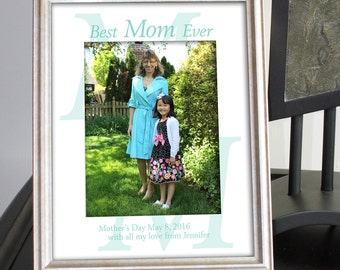Custom Photo Mat Personalized for Mother's Day