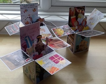 Personalised pop up cards for any occasion