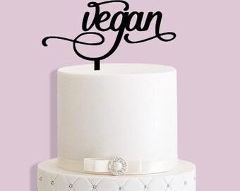 Vegan Cake Topper