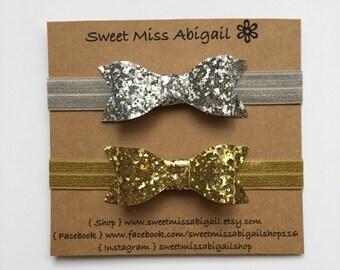 Gold Headband| Silver Headband| Baby Girl Headband
