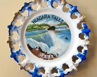 Niagara Falls Canada Souvenir Plate