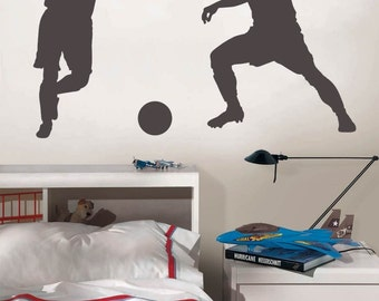 Soccer Players Wall Decal