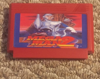 Mega Man 2 Custom Famicom 8bit Game. MegaMan 1 2 3 4 5 6