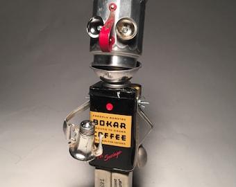 No Joe...Mo Joe! - Assemblage Art Robot Sculpture