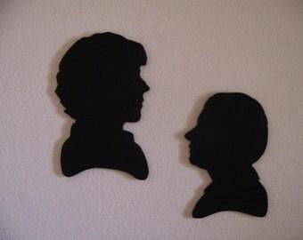 Customizable BBC Sherlock Wood Art