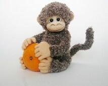 Buddy The Frinedly Monkey | Soft Plushy Monkey | Stuffed Monkey Toy