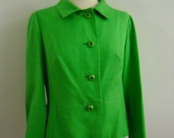 jacket vintage 1960 's jacket, made in italy, free shipping