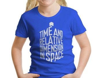 Doctor Who TARDIS Girls' T-Shirt