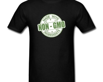 Men's T-shirt Made With Non-gmo Ingredients