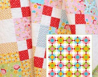 PDF Quilt Pattern - Plaid