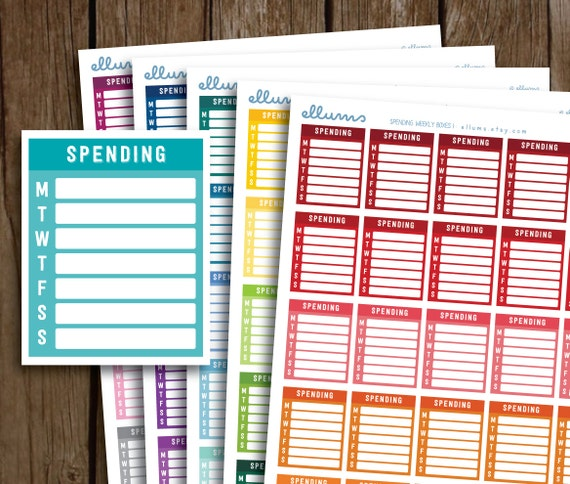 weekly expense tracker