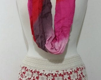 Multicolored Lace Mini Skirt