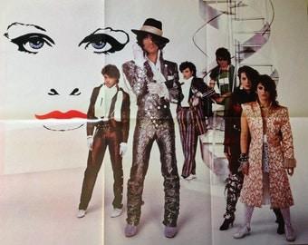 Rare - Unused/Unhung - Original 1980's Prince & the Revolution Poster - Measures 22x28 - Purple Rain