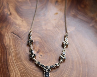 Vintage Onyx Necklace