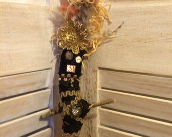 Swamp Doll Voodoo Protection Altar Doll