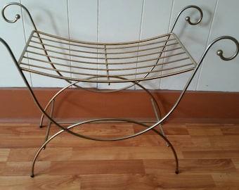 Vanity stool Etsy