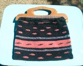 Bohemian Vintage Carpet Bag- ON SALE
