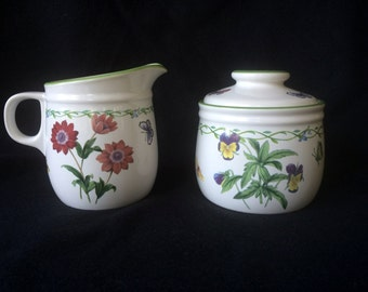 Studio Nova Garden Bloom Creamer and Sugar set