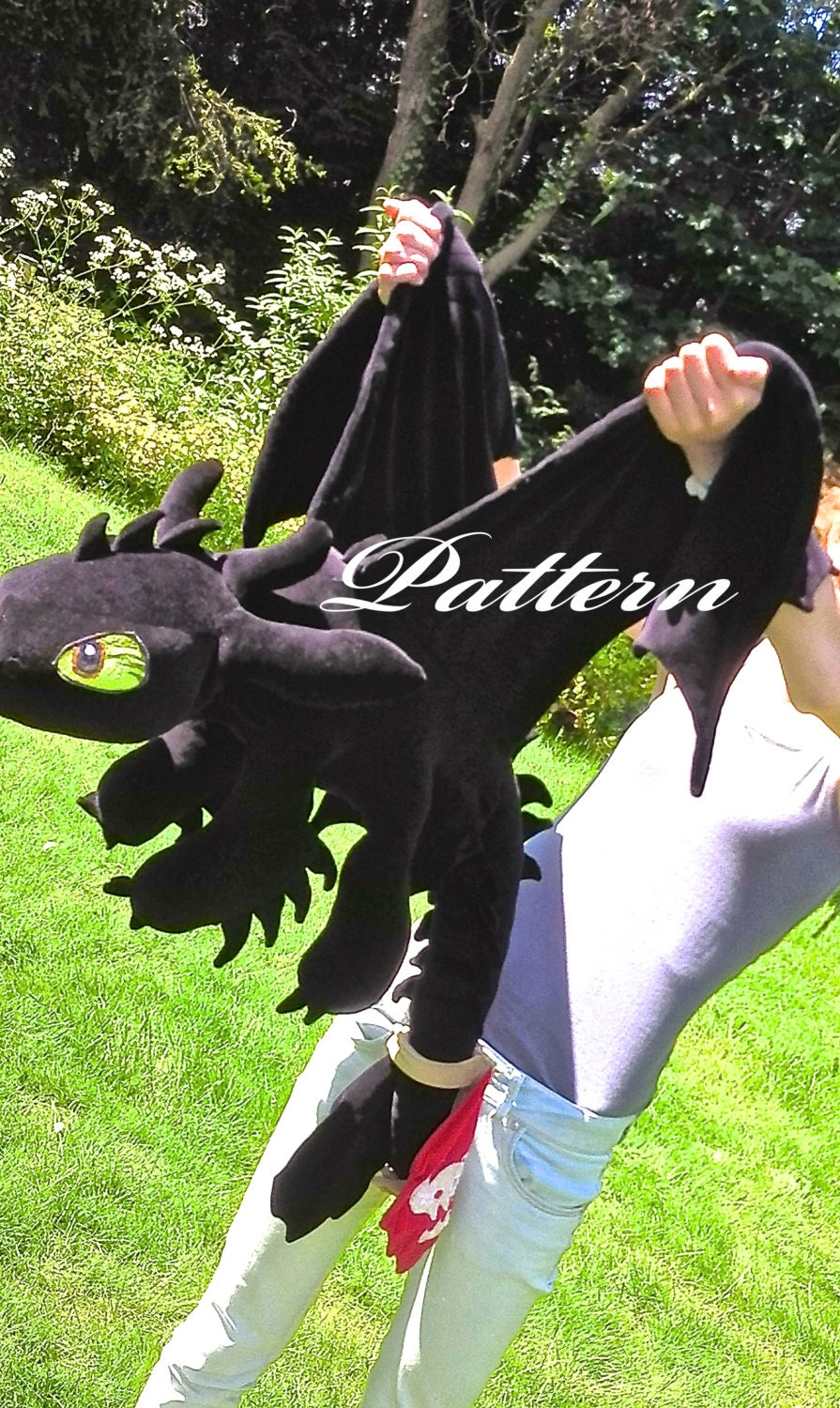 Giant Toothless Plush Pattern Pdf How To Train Your