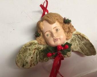 Girl Ceramic Angel Ornaments