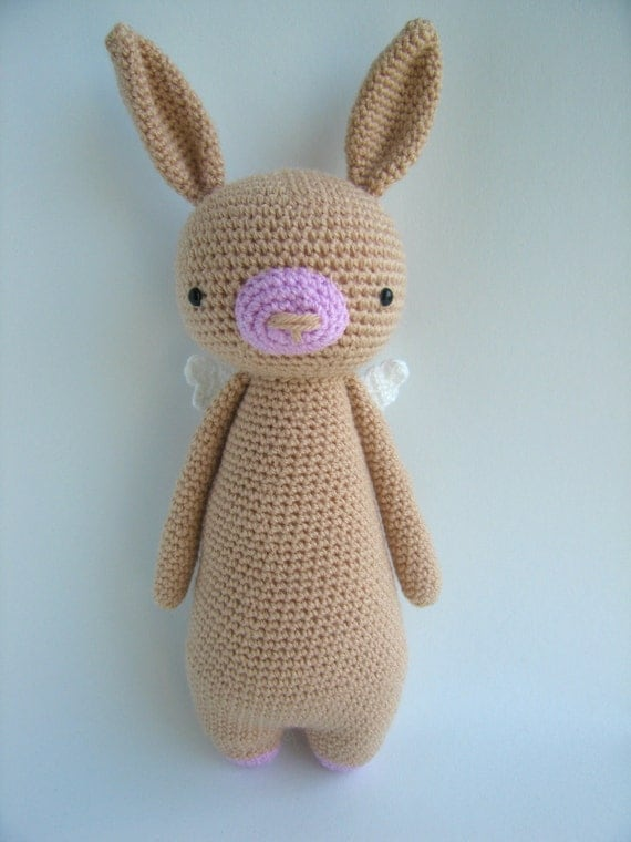 Etsy Amigurumi Bunny : Crochet Amigurumi Pattern Rabbit
