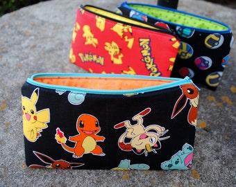 Pokemon Pencil Case or Make Up Bag