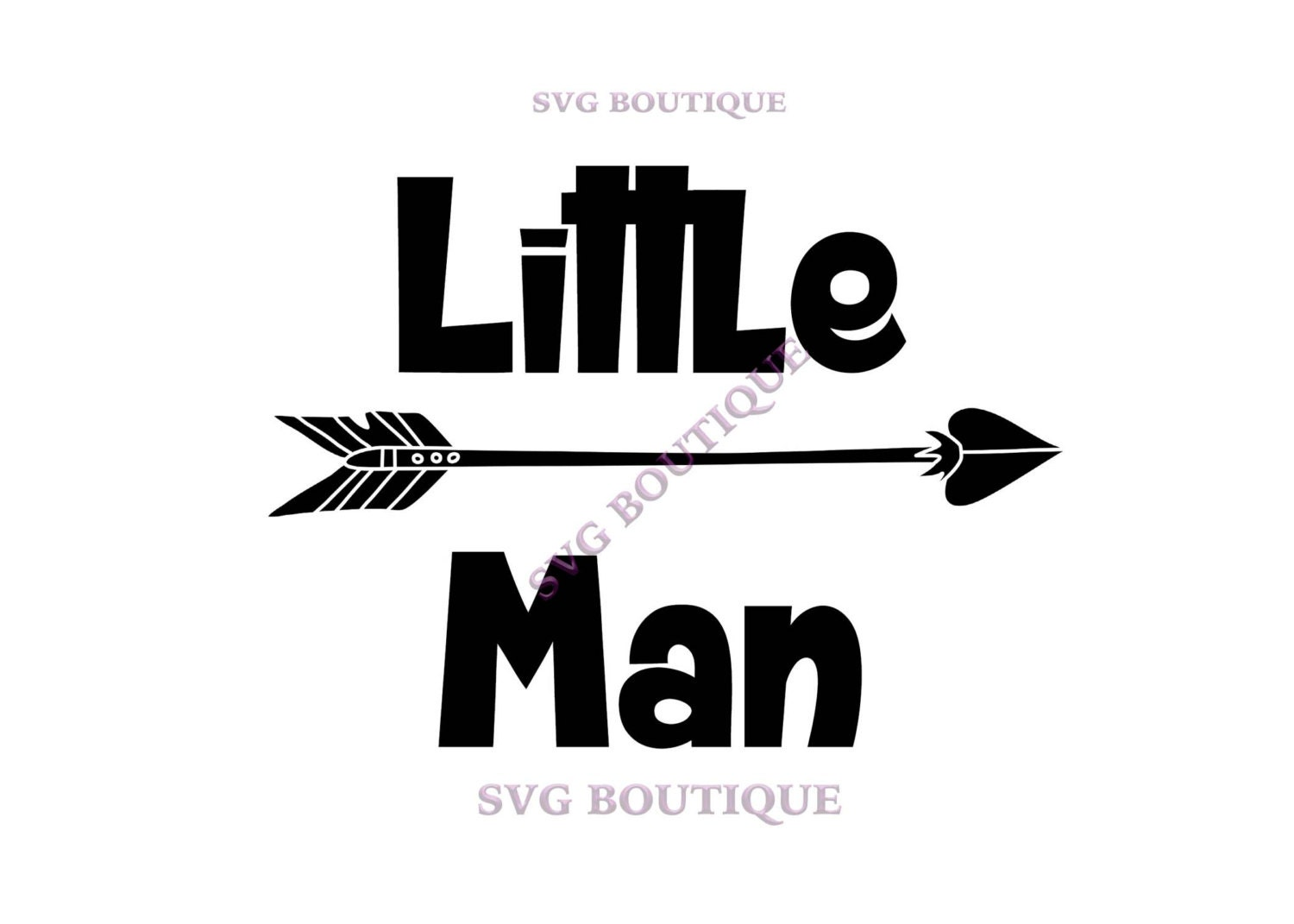 Little Man Cut File Baby Boy Svg Little Boy Arrow Tribal
