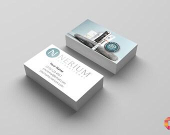 "DIGITAL DOWNLOAD: Nerium International Customized 3.5"" x 2"" Business Cards"