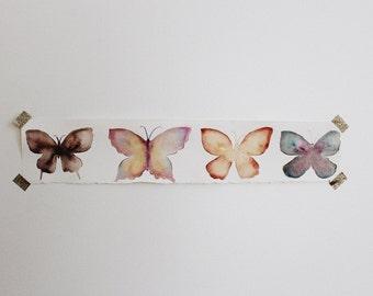 Custom Watercolor Butterflies