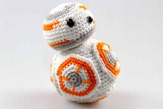 Free Star Wars Bb 8 Crochet Pattern : Amigurumi Crochet Star Wars Amigurumi Crochet BB8 by ...