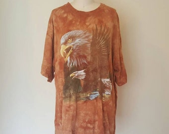 90's Red Dirt Dyed Eagle T-Shirt