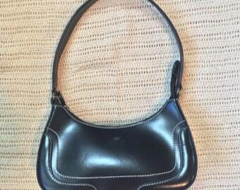 Daniela Moda Small Italian Leather Vintage  Bag