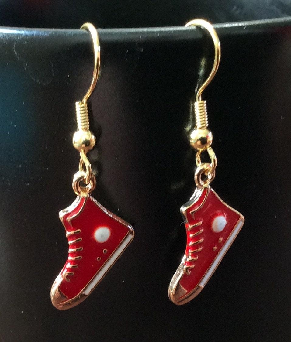converse earrings tennis shoe earrings shoe earrings